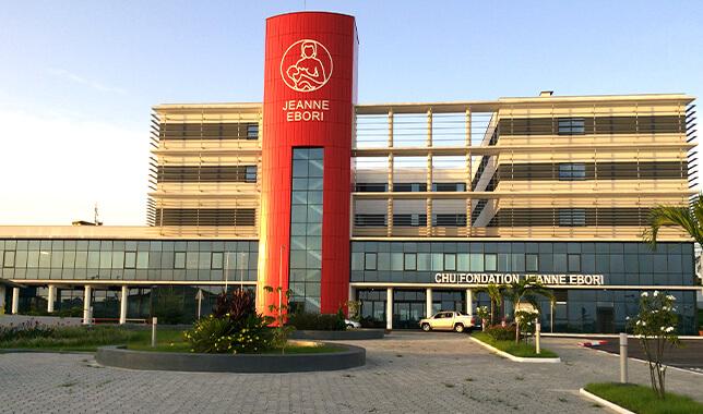 Nemocnice Gabon - reference Luwex