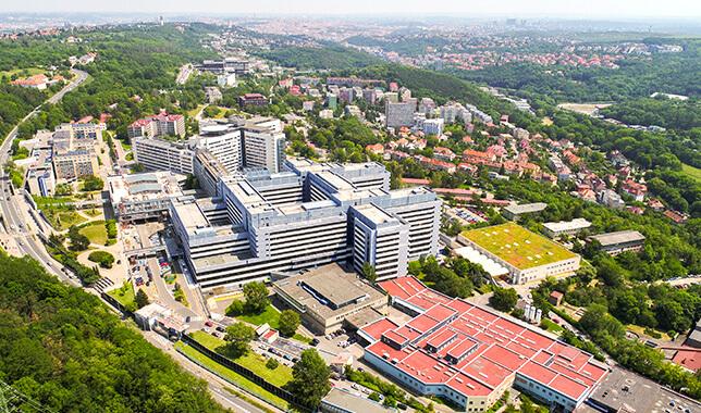 Nemocnice Motol Praha - reference Luwex