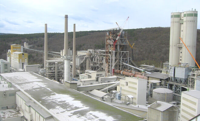 Reference Cementárna v Mokré u Brna od Luwex