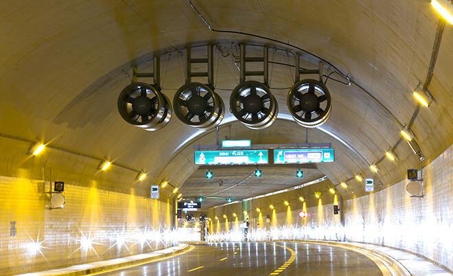 Referenzen Tunnel Blanka Prag von Luwex, a.s.